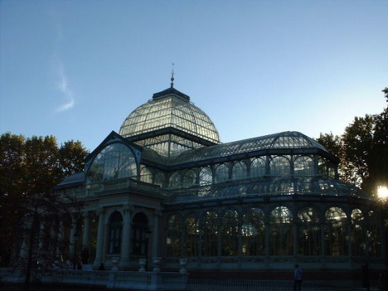 The Crystal Palace in the Retiro park