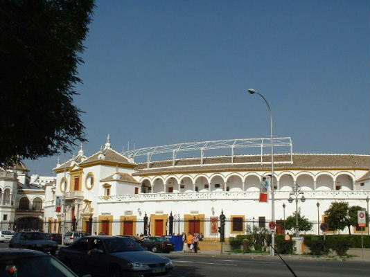 Here's the place to be if you'd want to see the bull-fighting